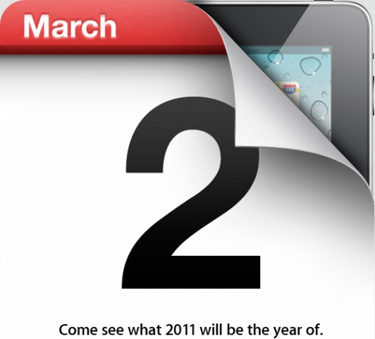 Apple iPad 2 Invitation